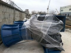 Delivery, installation and start up of a turbines at LOSOSIANKA hydroelectric power plant ( Belarus )