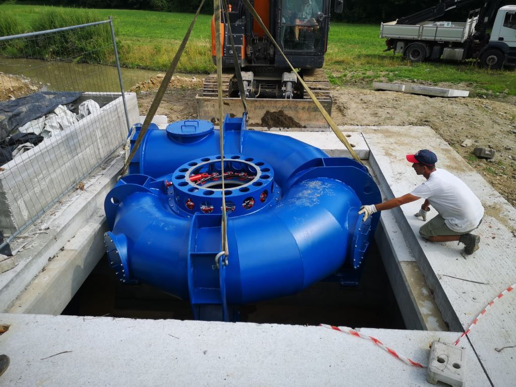 WTW realizuje dostawę 3 turbin Kaplana do Włoch